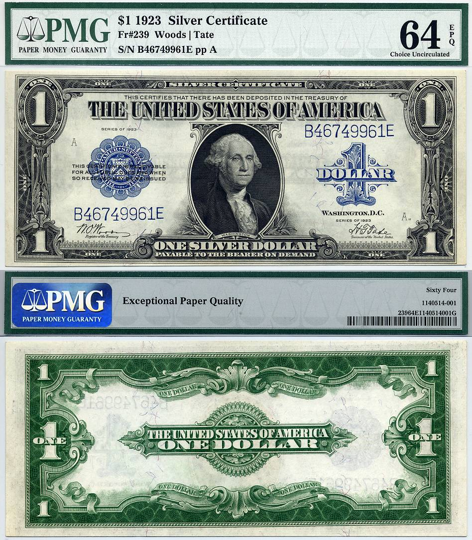 Silver Certificates: How Much is a 1923 Silver Certificate Worth ...